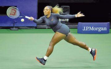 Serena Williams arrolla a Svitolina
