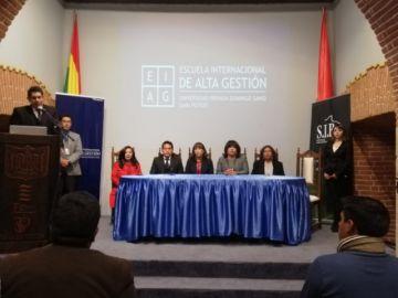 La UPDS y la SIB presentan nuevo diplomado internacional