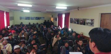 Comcipo deriva decisión sobre posible huelga indefinida a cabildo a realizarse en Uyuni