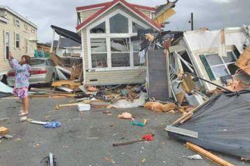 Huracán Dorian deja EE.UU. tras diez días de tormentas