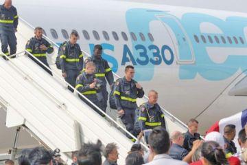 Bomberos y equipos de Francia se suman a la lucha contra el fuego