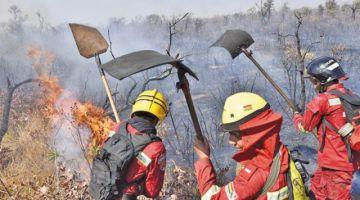 Ascenderán a soldados y marineros que combaten incendios