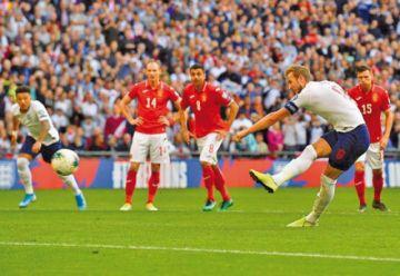 Inglaterra golea a Bulgaria en la fase clasificatoria a la Eurocopa