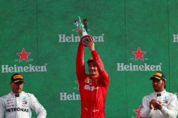 Leclerc conquista el Gran Premio de Italia