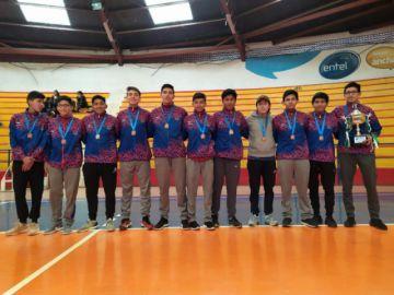 Santa Rosa sube al podio en el torneo nacional de voleibol