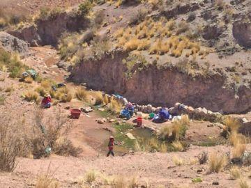 Piden atender embovedado en la zona de Quepumayu