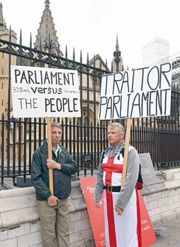 Diputados piden revivir el acuerdo May