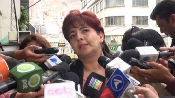 El Tribunal  rechaza la renuncia de Paola Barriga