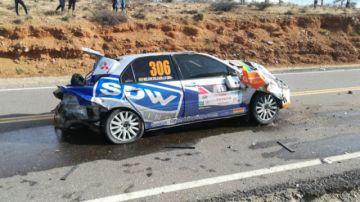 Corredores recorren la quinta etapa del gran premio de automovilismo