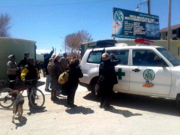 Un profesor sufre accidente luego de bloquear en Uyuni