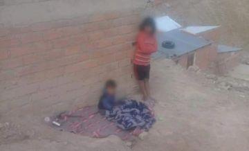 Defensoría rescata a menores que dormían en la vía pública