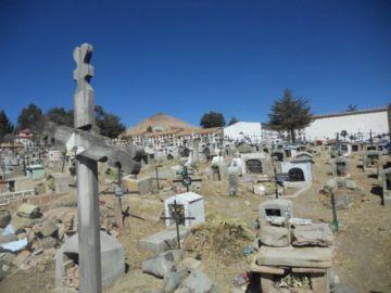 Hay crónicas en el Cementerio de Potosí de noche