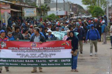 Campesinos desisten de marchar a Santa Cruz en rechazo a la Ley de Pausa Ambiental