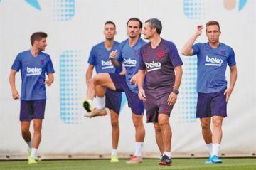 "Barcelona recibe a Valencia en el ""Camp Nou"""