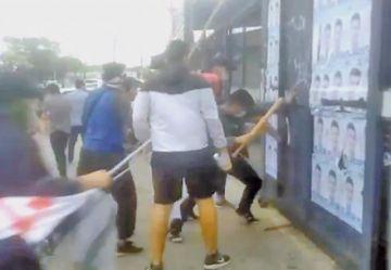 Detienen a nueve personas por violencia en Santa Cruz