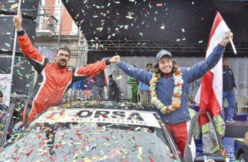 Sebastián Careaga hace historia en el automovilismo