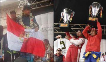 Potosí estuvo en el podio de ganadores en las tres categorías