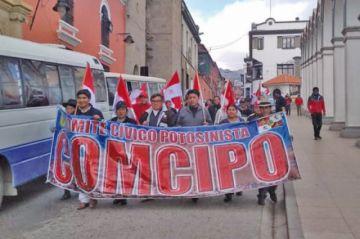 Cívicos confirman el cabildo en Uyuni para debatir sobre huelga
