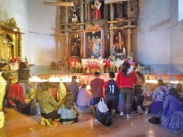 Fieles recorrieron calles con San Jerónimo y San Gabriel