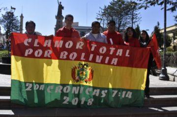 Bolivia Dice No firma pacto con el Consejo Nacional Cristiano