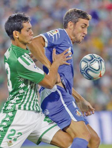Betis salva un punto y evita la victoria de Getafe