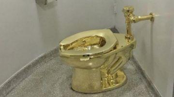 Roban inodoro de oro macizo valorado en 5 millones de dólares