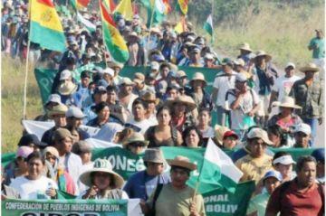 Pueblos indígenas inician desde hoy su marcha en defensa de la Chiquitania