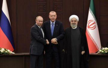 Erdogan, Putin y Rohani no coinciden sobre Siria