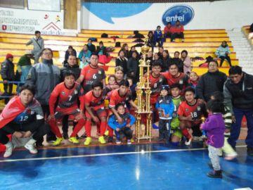 Potosí ya tiene a sus representantes para los torneos clasificatorios de futsal