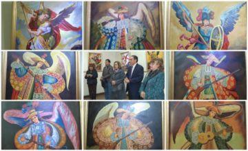 Arcángeles  inspiran muestra de Corso Cruz