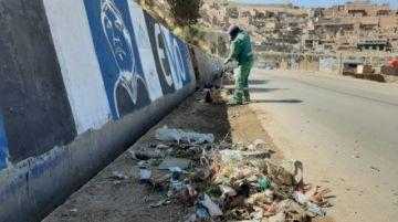 EMAP continúa levantando promontorios de basura