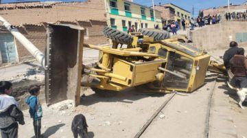 Desperfecto mecánico causa accidente en el Cementerio