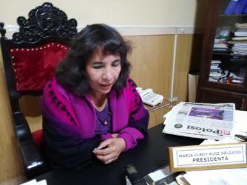 La presidenta del Concejo Municipal afronta casi diez procesos penales