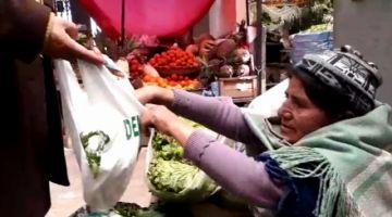 Continúa campaña para evitar el uso de bolsas plásticas