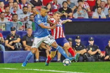 Herrera le da el empate a Atlético contra el Juventus