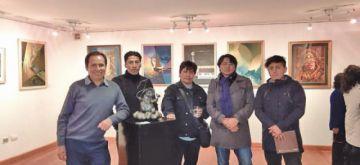 Obras potosinas están en galería  de arte en La Paz