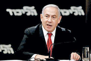 Netanyahu queda cerca  de ser excluido de un pacto