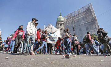 La economía argentina registra un leve respiro