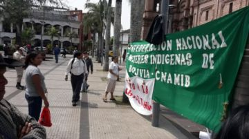 Marcha por la Chiquitania avanza y mujeres indígenas instalan vigilia