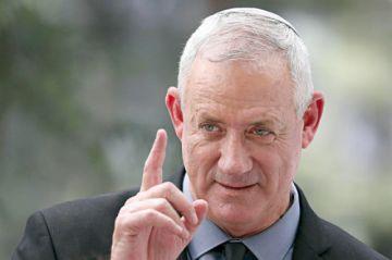 Gantz rechaza nuevo gobierno con Netanyahu