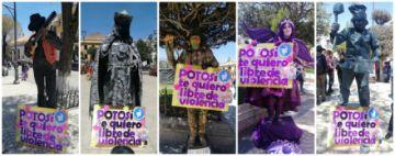FIC muestra el festival de estatuas vivientes con países invitados