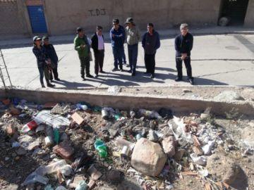 Piden mantenimiento de alcantarillado pluvial en la zona de San Benito