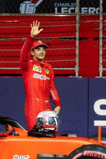 "Leclerc logra la ""pole"" en el GP de Singapur"