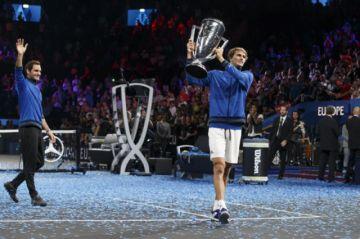 Europa gana su tercera Copa Laver