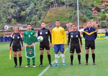La Sub-15 pierde contra Brasil