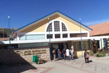 Hospital Bracamonte atiende a pacientes con quimioterapia