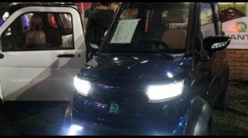 Bolivia ya cuenta con el primer auto eléctrico