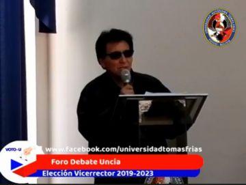 Inician los foros debate para elegir vicerrector de la UATF