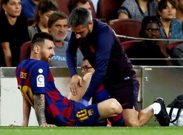 Lionel Messi vuelve a sufrir una lesión