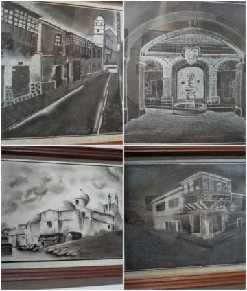 Divino Maestro retrata a Potosí en blanco y negro